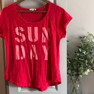 Sunday Short Sleeve Tee by Sundry